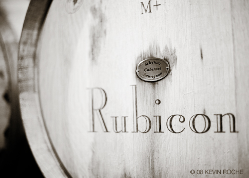 Rubicon, the wineries flagship wine