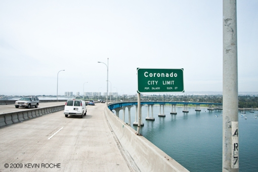 I hate this bridge but love Coronado