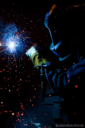 Todd Noe artist and welder