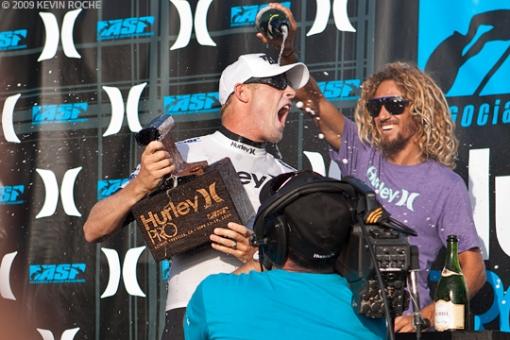Rob Machado gives Mick the royal treatment